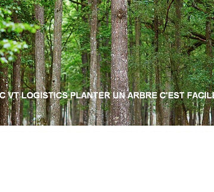 VT LOGISTICS s'engage ! Nous plantons 1 arbre tous les 50 transports